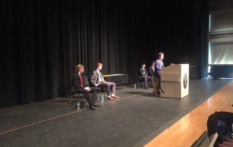 Pierleoni Wins Senior Speech Competition