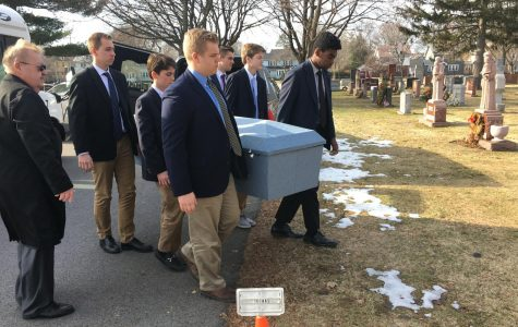 Learning a Life Lesson Through the McQuaid Pallbearer Ministry