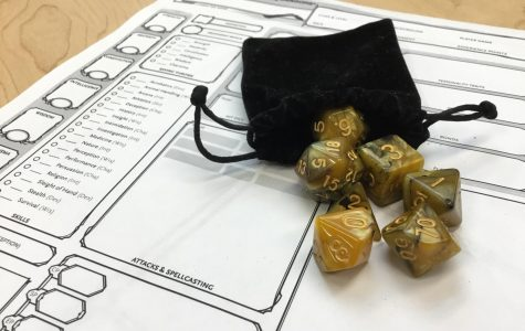 Dungeons and Dragons Club Gets Ready to Roll
