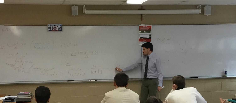 Mr. Robert Bonfiglio has returned to his alma mater to teach mathematics.