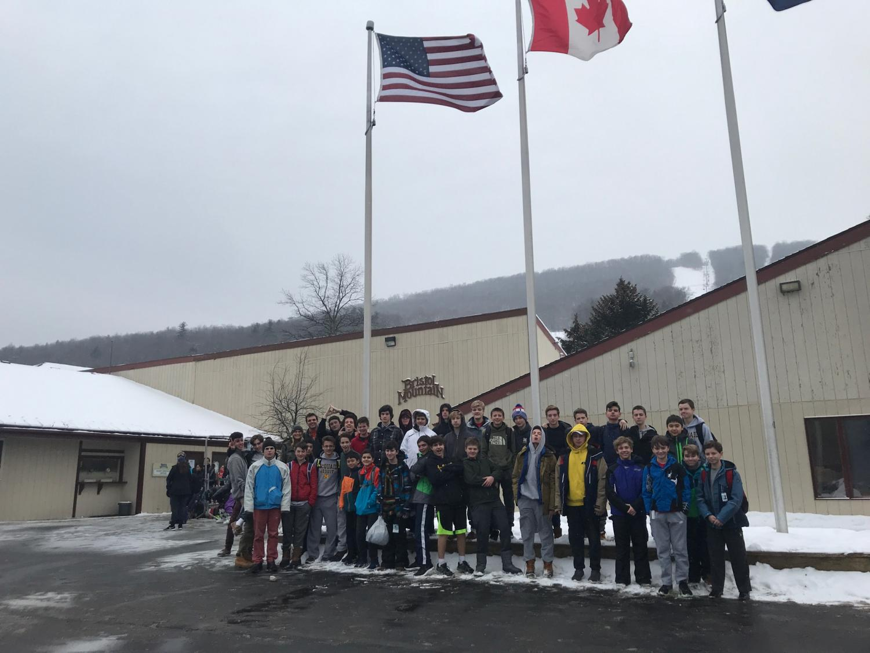 McQuaid Ski club; chill and fun!