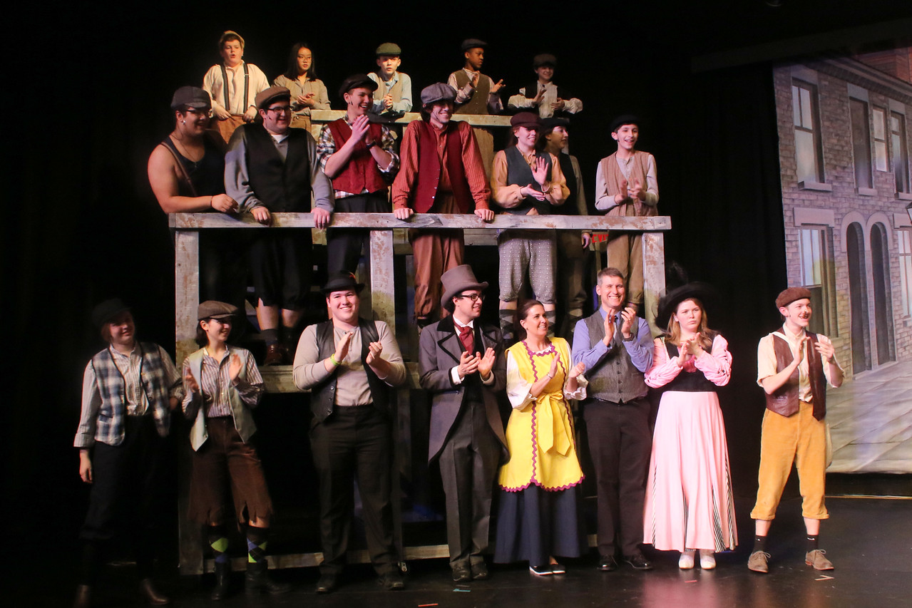 McQuaid's spring musical Newsies drew multiple sell-out crowds.