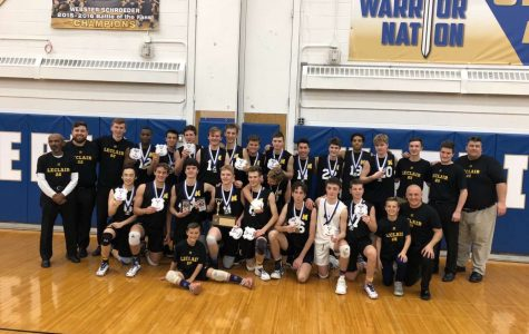 Volleyball Knights Win Sectional Championship