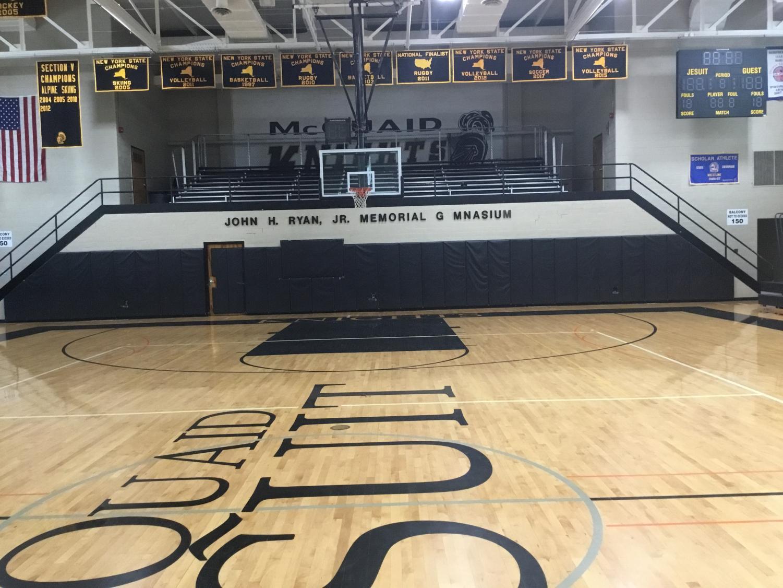 Picture of the John H. Ryan, JR. Memorial Gymnasium