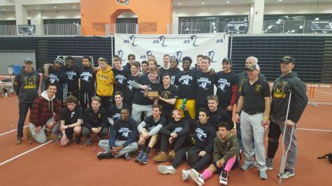 McQuaid Indoor Track Team Races Against Covid-19