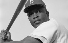 Jackie Robinson poses for a picture in 1954. Being the first Black man in the MLB, Robinson was an inspiration for all and continues to be one to this day.